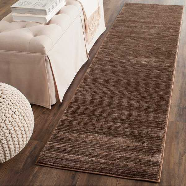 Safavieh Vision Contemporary Tonal Brown Area Rug - 2'2' x 8'